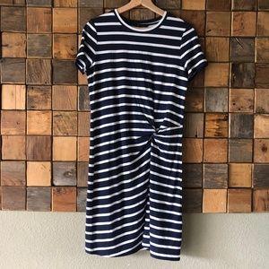 Banana Republic Nautical T-Shirt Dress